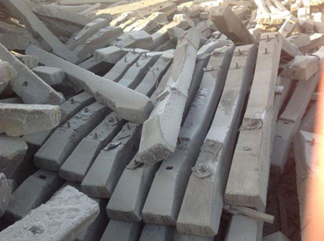 утилизация бетонных шпал