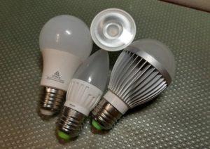 утилизация светодиодных ламп и светильников