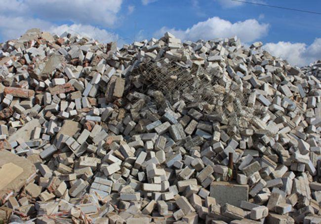 рециклинг бетонных отходов