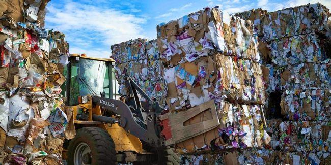 свалка отходов для рециклинга