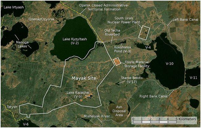 карта МАЯКА