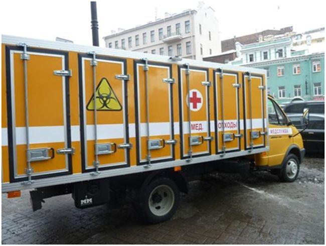 транспорт для мед отходов