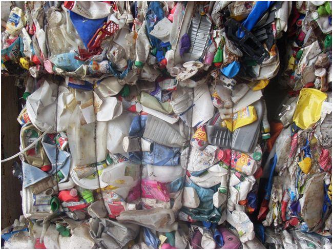 тюки пнд отходов