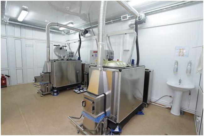 установка для утилизации мед отходов