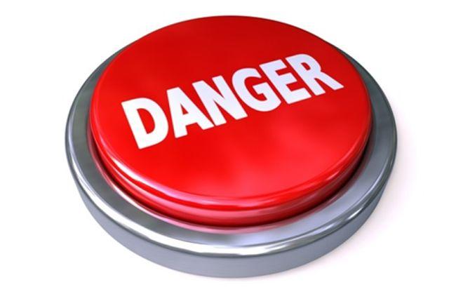 кнопка опасность