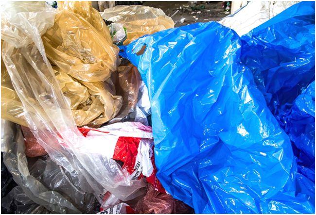 отходы ПВД пленки