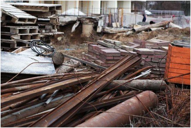 отходы строительства