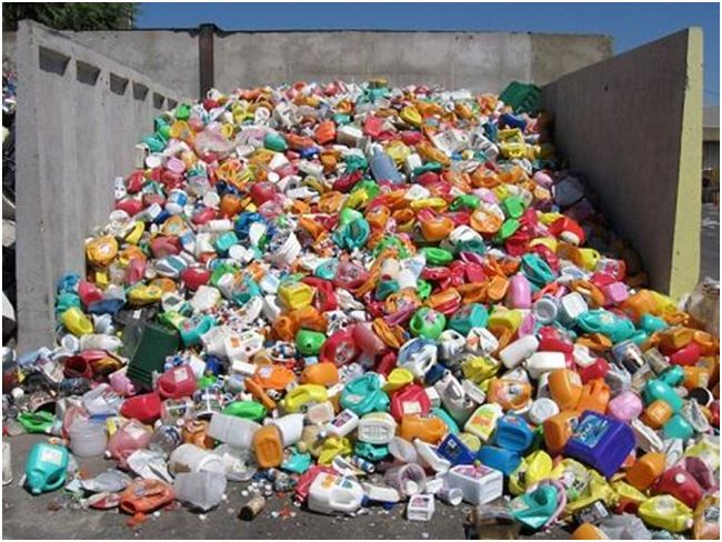 пэт бутылки отходы
