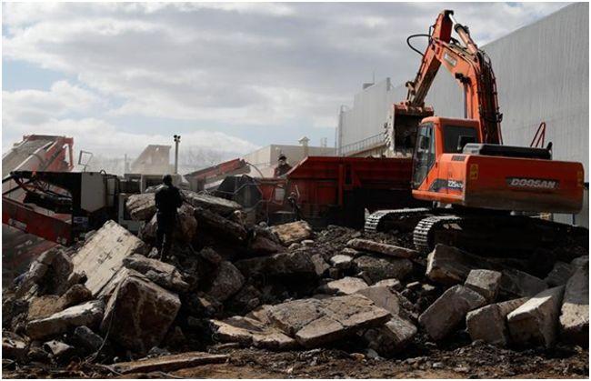 работа с строительным мусором