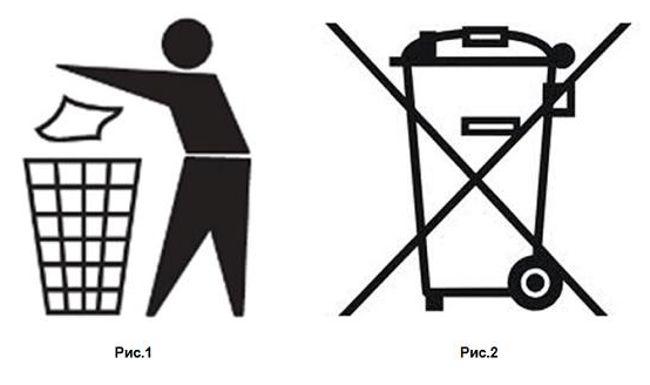 рисунки - правила обращения с мусором