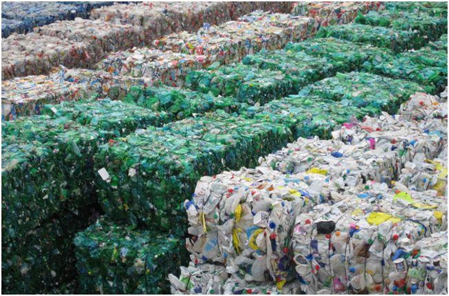 тюки из пластика