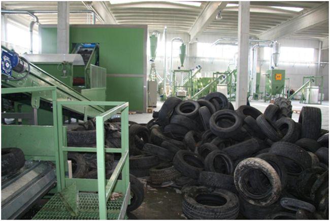 завод по переработке шин в крошку