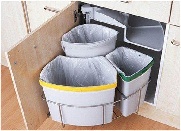 мусорки под разный мусор