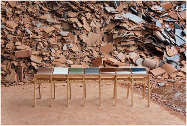 отходы керамики