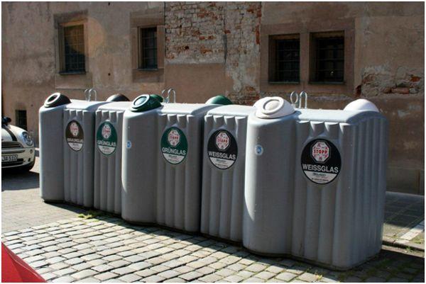 раздельный сбор мусора в европе