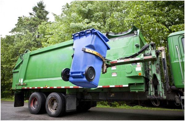 вывоз мусора из бака