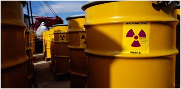 вывоз радиоактивных отходов