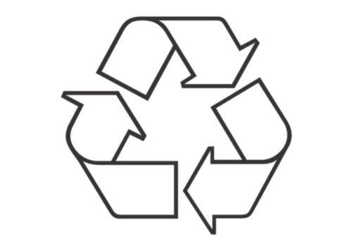 Значок утилизации картона пермь вывоз картон