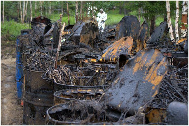 отходы нефтяные