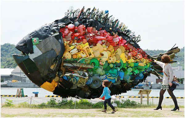 рыба из отходов