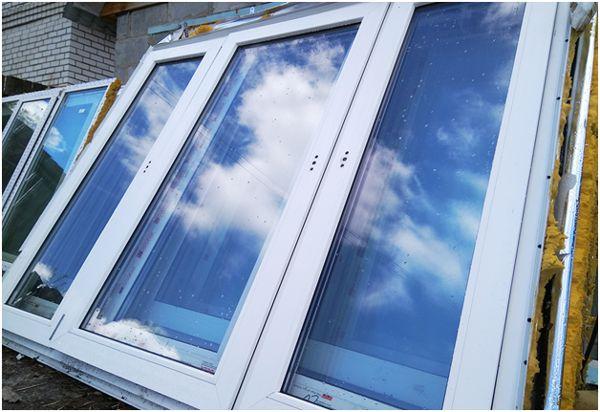 демонтированные окна