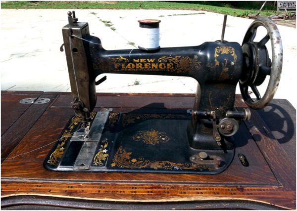 швейная машина изношенная