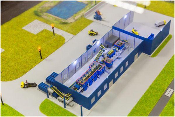 Оборудование для переработки и сортировки мусора