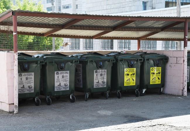 Мусорные баки для сбора отходов